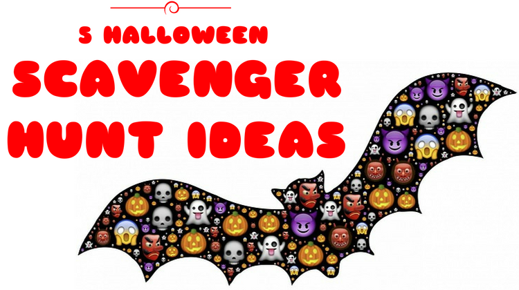5 Halloween Scavenger Hunt Ideas