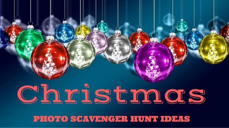 Christmas Photo Scavenger Hunt Ideas