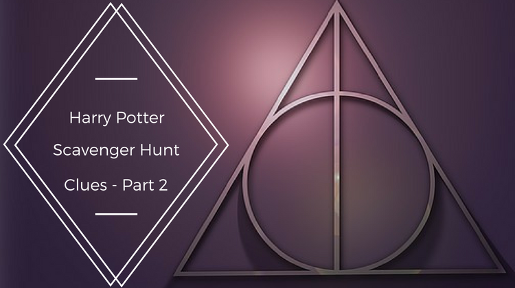 Harry Potter Scavenger Hunt Clues Part 2