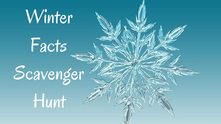 Winter Facts Scavenger Hunt