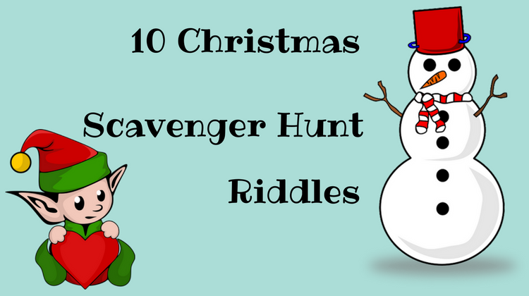 10 Free Christmas Scavenger Hunt Riddles