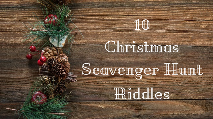 Christmas Scavenger Hunt Riddles