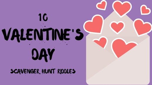 10 Valentine's Day Scavenger Hunt Riddles