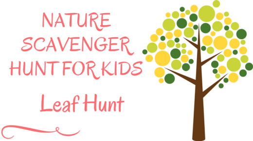 Nature Scavenger Hunt For Kids Leaf Hunt
