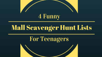 Funny Mall Scavenger Hunt Lists For Teenagers