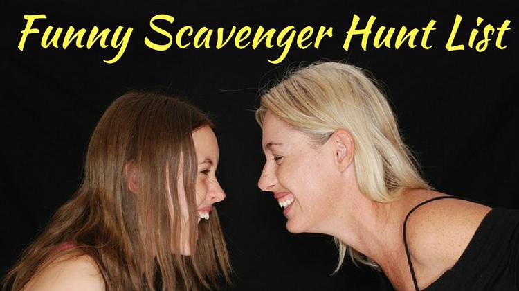 Funny Scavenger Hunt List