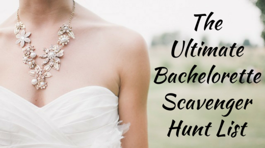 The Ultimate Bachelorette Scavenger Hunt List