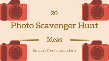 20 Photo Scavenger Hunt Ideas