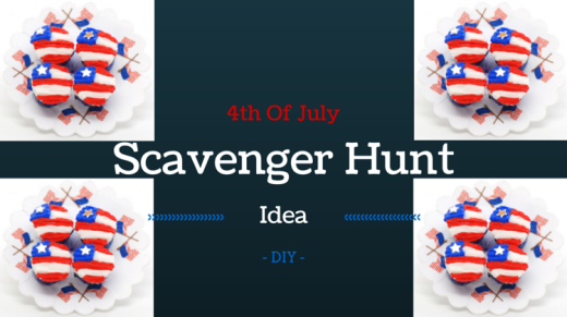 4th Of July Scavenger Hunt Idea DIY