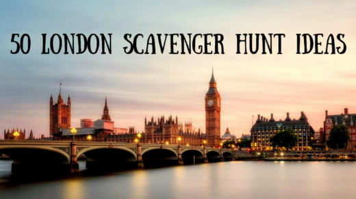 50 London Scavenger Hunt Ideas