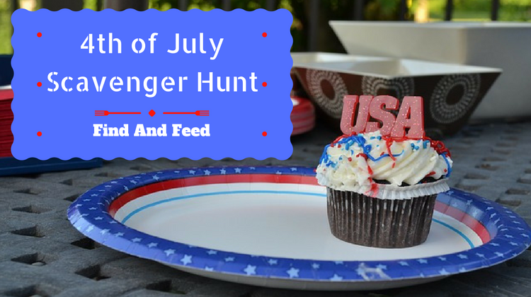 4th of July Scavenger Hunt Ideas Find And Feed