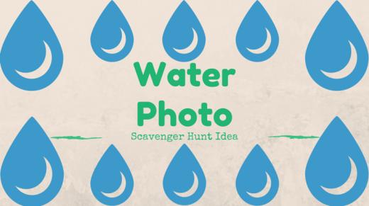 Water Photo Scavenger Hunt Idea