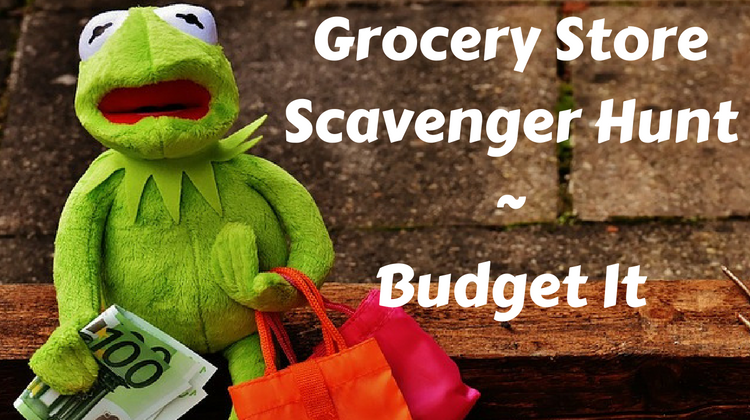 Grocery Store Scavenger Hunt Budget It