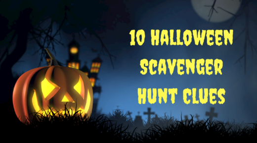 10 Halloween Scavenger Hunt Clues