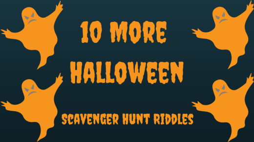 10 More Halloween Scavenger Hunt Riddles