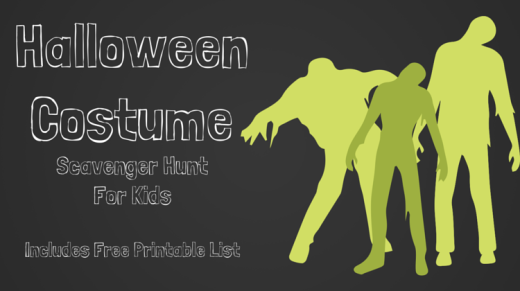 Halloween Costume Scavenger Hunt For Kids