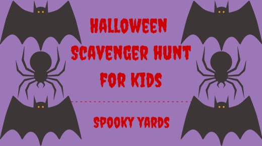 Halloween Scavenger Hunt For Kids Spooky Yards