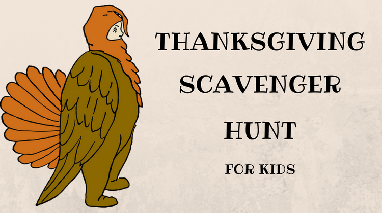 Thanksgiving Scavenger Hunt For Kids