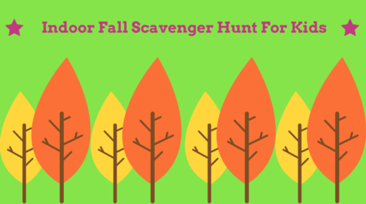 Indoor Fall Scavenger Hunt Idea For Kids