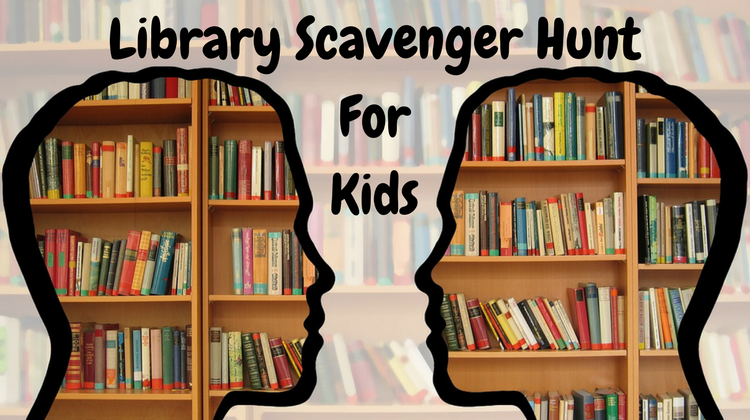 Library Scavenger Hunt For Kids