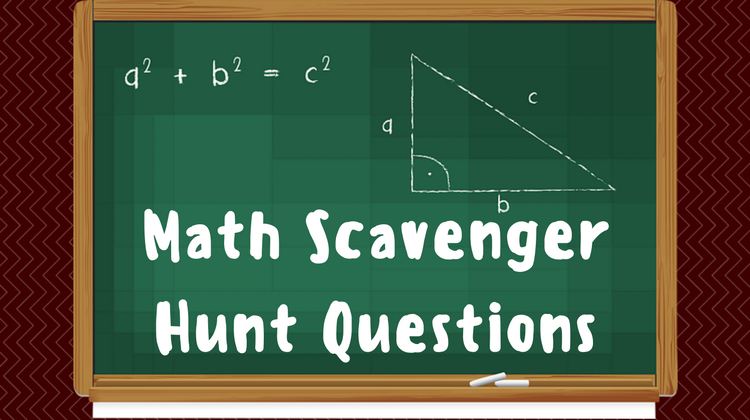 Math Scavenger Hunt Questions
