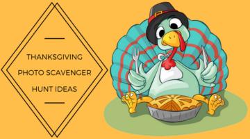 Thanksgiving Photo Scavenger Hunt Ideas