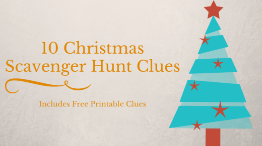 graphic regarding Christmas Scavenger Hunt Printable Clues named 10 Xmas Scavenger Hunt Clues Scavenger Hunt