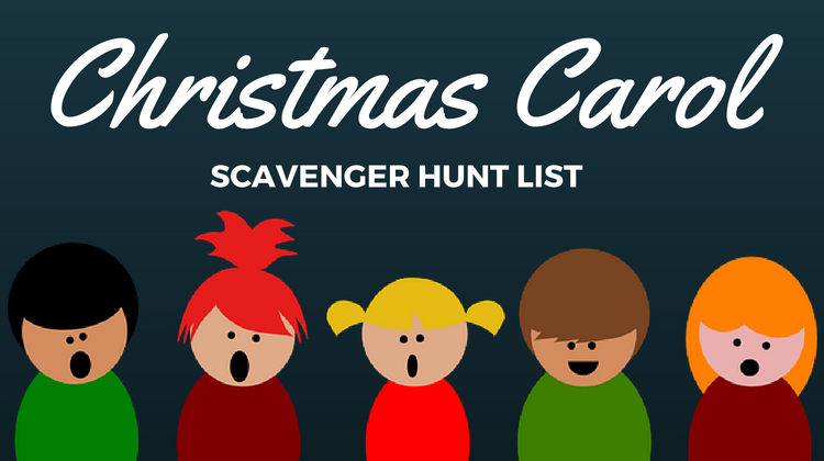Christmas Scavenger Hunt List