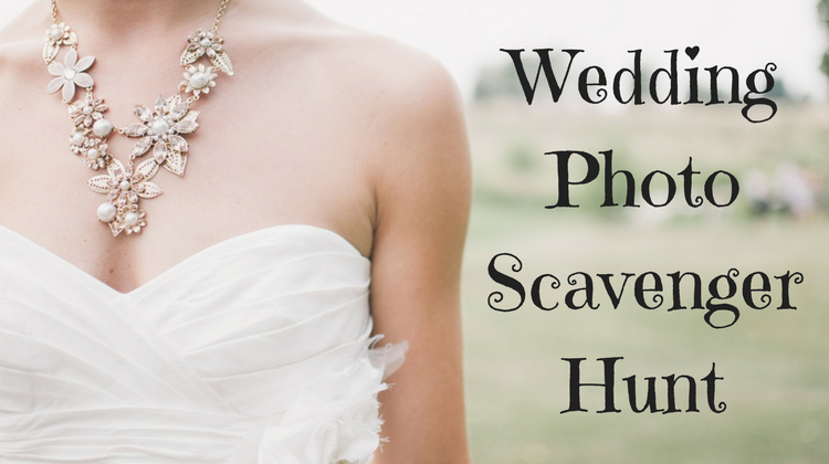 Wedding Photo Scavenger Hunt